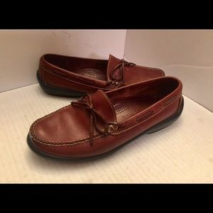 Woman's Cole Haan Brown driving shoe loafers 9M